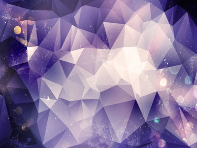 紫罗兰色多边形背景