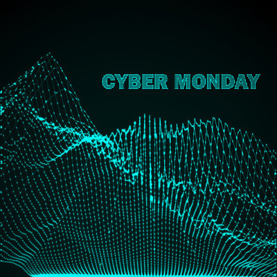 Cyber Monday Promotional Poster