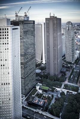 东京摩天大楼