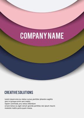 材料设计背景或创意设计海报