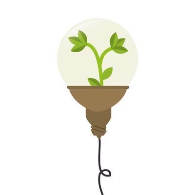 灯泡厂光的想法创意设计