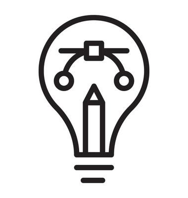 网页设计或平面设计的创意设计图标