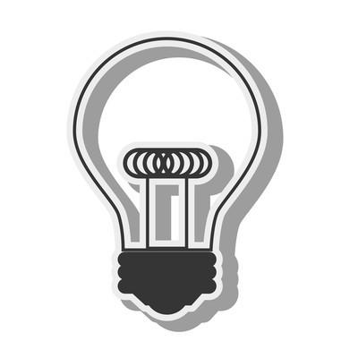 灯泡光的想法创意设计