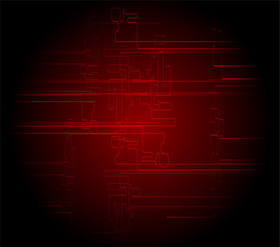 抽象的暗红色的黑色的技术背景