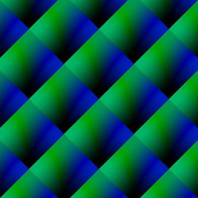 蓝色和深青色抽象