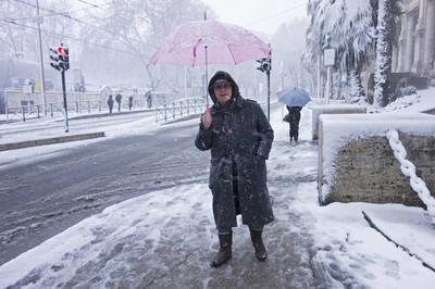 在罗马的雪