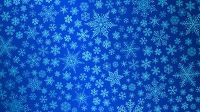 圣诞背景下的雪花