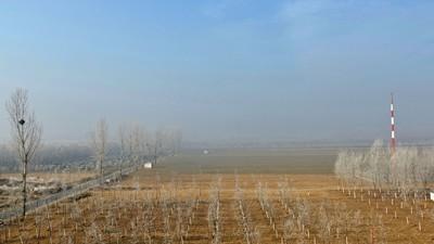 腊八时节北京的乡村
