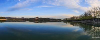清晨和傍晚,颐和园在慢门镜头下显得悠远,宁静,方显皇家园林大气之美!
