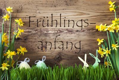 春天的复活节装饰,鹅肝,Fruehlingsanfang 手段开始