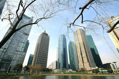 上海陆家嘴城市景观