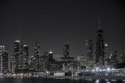市中心芝加哥