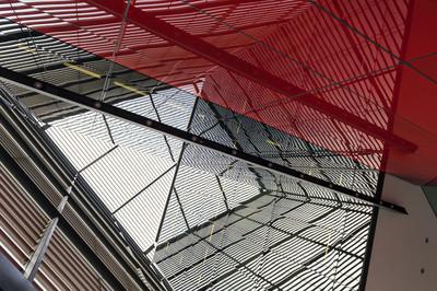 抽象的摩天大楼