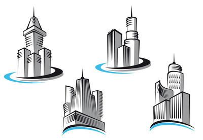 摩天大楼的符号