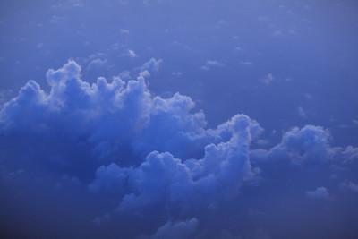 背景天空与云彩日出