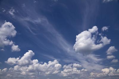 蓝天  白云
