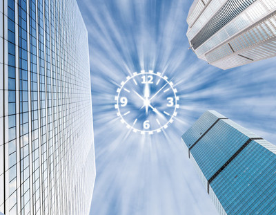 现代玻璃业务建筑摩天大楼