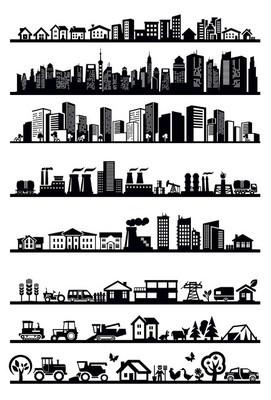 住房和城市图标