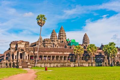 吴哥寺,柬埔寨、 东南亚