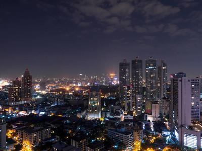 城市景观夜灯 1