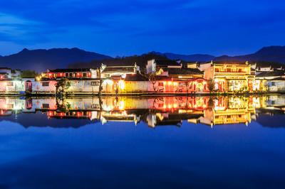 宏村,世界文化遗产,风景如画。