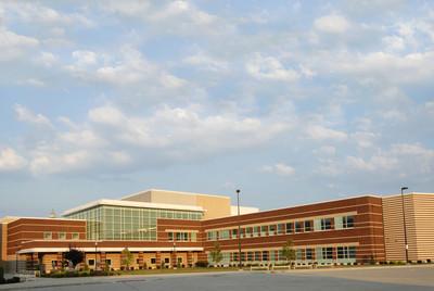 新的教学楼
