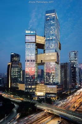 Tencent Building Day&Night