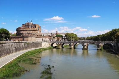 在一个夏日的马略卡岛帕尔马安杰洛 · 卡斯特在罗马,意大利