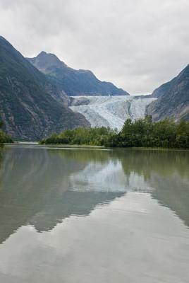 阿拉斯加-戴维森冰川-美丽的风景