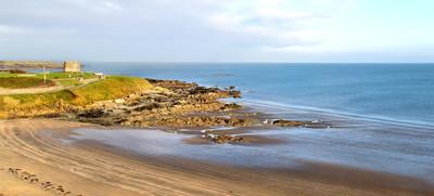 爱尔兰海岸,爱尔兰的美丽的景色