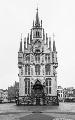 市政厅的干酪在荷兰