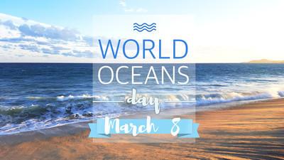 世界海洋日,6 月 8 日
