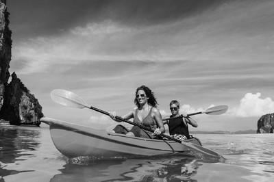 Cople 在海上皮划艇