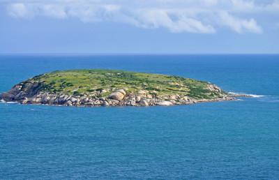 在海洋中的岛屿。澳大利亚
