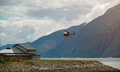 在阿拉斯加的直升机之旅