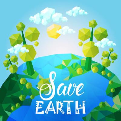 世界环境日生态保护节日贺卡