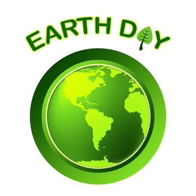 地球日代表环保和生态友好