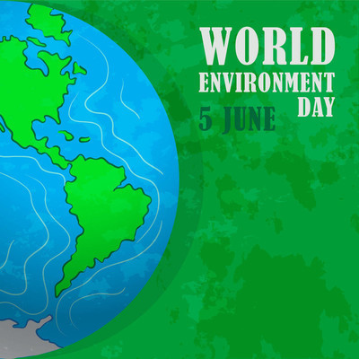 世界环境日。我们的家园地球。有利环境, 保护自然
