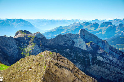 Saentis 山风景