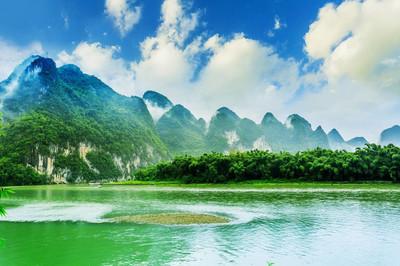 桂林丽江山水风光