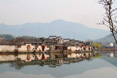 Hongcun village, China