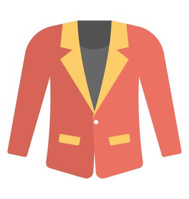 红色上衣或外套, 黄色