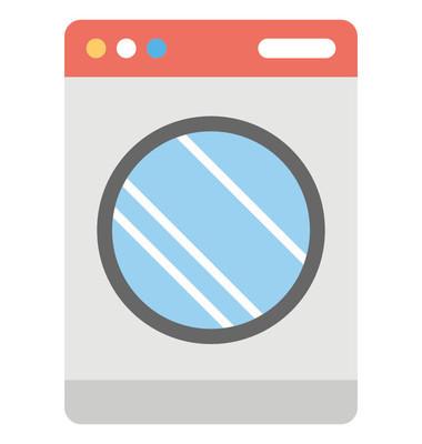 洗衣机平面图标