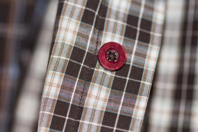 在织物上的按钮