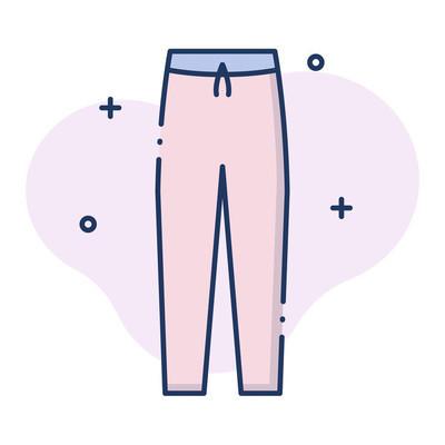 Pants LineColor illustration