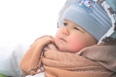 宝宝在冬天的衣服