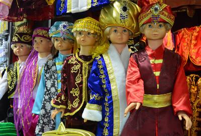 在埃及市集伊斯坦布尔,全国服装销售