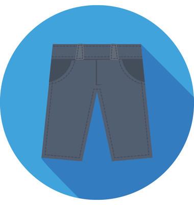 短裤矢量图标