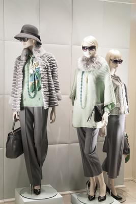 时装模特展示