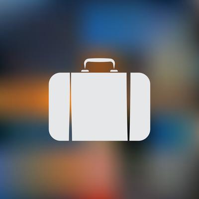 旅游包图标